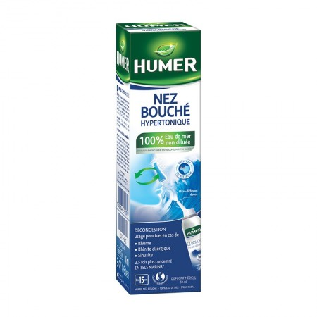 Illustration Humer Spray nasal nez bouché adulte - 50 ml