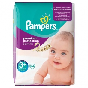 Pampers couches active fit taille 3 5 10 kg paquet de 44 couches - Couches pampers active fit taille 5 ...