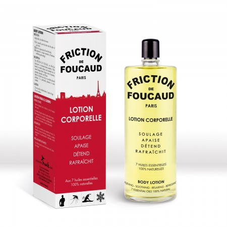 Foucaud Paris - La Friction de Foucaud Lotion corporelle énergisante - 500 ml