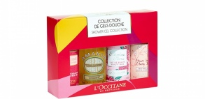 Illustration Collection de gels douche - Coffret de 4 produits