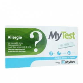 Illustration My Test auto-test allergie - 1 kit