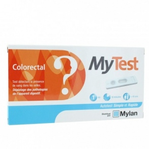 Illustration My Test auto-test colorectal - 1 kit