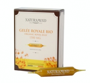 NaturaMind - Gelée Royale BIO 1500mg - 10 ampoules de 10ml