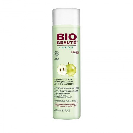 Bio Beauté by Nuxe - Eau Micellaire Démaquillante Anti-Pollution Bio - 200 ml